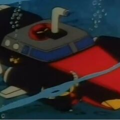 The M.A.D. Mobile in submarine mode