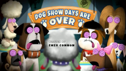 Dog Show Days Are Over