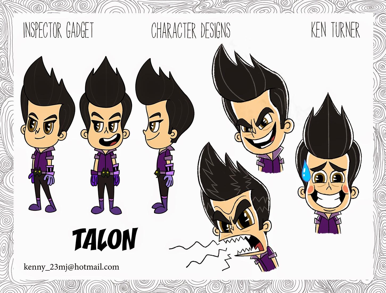 Talon Claw | Inspector Gadget Wiki | FANDOM powered by Wikia