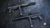IS M3 Grease Gun Render