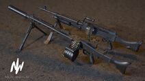 IS MG3 M240B Render
