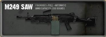 INSMC M249 SAW