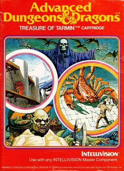 Advanced Dungeons and Dragons Treasure of Tarmin