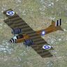 Biplane bomber