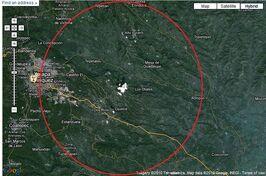 Location of K1 facility