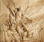 St Michael the Archangel Sculptural Wall Frieze Dey Mt Laurel 2007