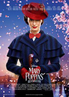 Disney's Mary Poppins Returns German Poster