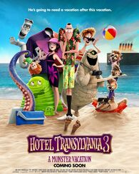 Hotel Transylvania 3 A Monster Vacation Poster