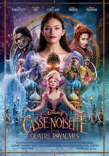 Disney's The Nutcracker and the Four Realms European French Poster