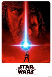 Star Wars The Last Jedi Latin American Spanish Teaser Poster