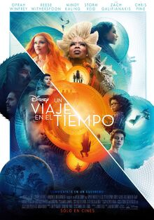 Disney's A Wrinkle in Time 2018 Latin American Spanish Poster 2