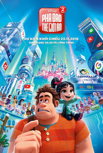 Disney's Ralph Breaks the Internet Vietnamese Poster