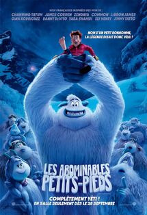 Smallfoot Canadian French Poster