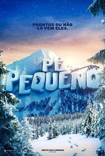 Smallfoot Brazilian Portuguese Teaser Poster