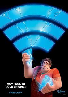 Disney's Ralph Breaks the Internet Latin American Spanish Teaser Poster