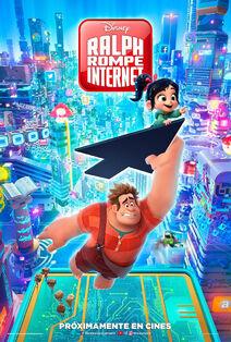 Disney's Ralph Breaks the Internet European Spanish Poster