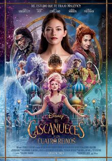 Disney's The Nutcracker and the Four Realms Latin American Spanish Poster
