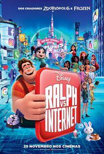 Disney's Ralph Breaks the Internet European Portuguese Poster