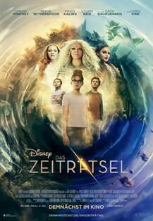 Disney's A Wrinkle in Time 2018 German Poster 2
