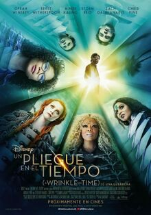 Disney's A Wrinkle in Time 2018 European Spanish Poster