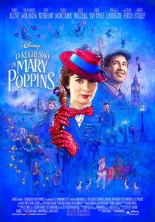 Disney's Mary Poppins Returns European Portuguese Poster 2