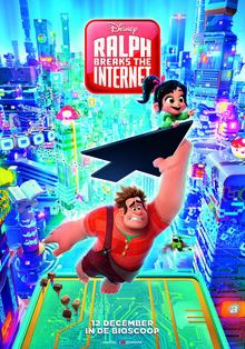 Disney's Ralph Breaks the Internet Dutch Poster