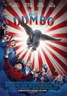 Disney's Dumbo 2019 Finnish Poster