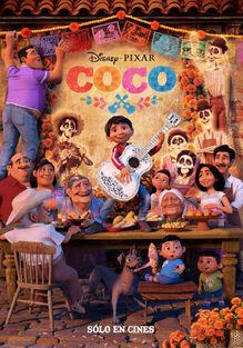 Pixar's Coco Spanish Poster 2
