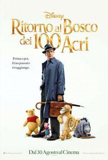 Disney's Christopher Robin Italian Poster