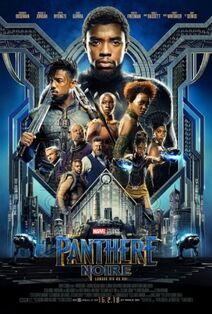 Marvel Studios' Black Panther Canadian French Poster