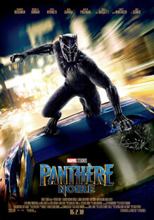 Marvel Studios' Black Panther Canadian French Poster 2