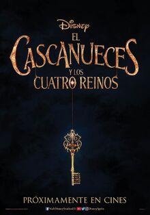 Disney's The Nutcracker and the Four Realms European Spanish Teaser Poster