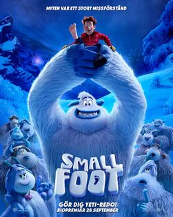Smallfoot Swedish Poster