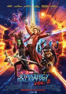 Marvel Studios' Guardians of the Galaxy Vol. 2 Polish Poster