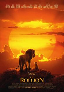Disney's The Lion King 2019 Canadian French Poster