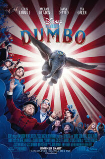 Disney's Dumbo 2019 Danish Poster