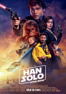 Solo A Star Wars Story Latin American Spanish Poster