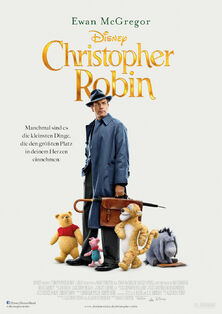 Disney's Christopher Robin German Poster