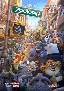 Disney's Zootopia Latin American Spanish Poster