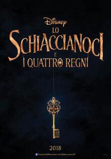Disney's The Nutcracker and the Four Realms Italian Teaser Poster