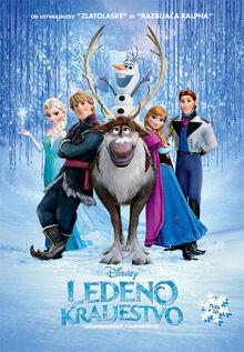Frozen Slovene Poster