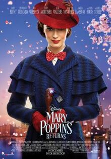 Disney's Mary Poppins Returns Dutch Poster