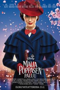 Disney's Mary Poppins Returns Finnish Poster