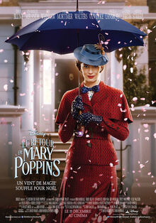Disney's Mary Poppins Returns European French Poster 3