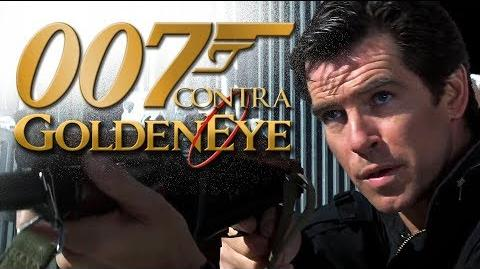 007 Contra GoldenEye - duas dublagens (VHS e TV)