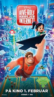 Disney's Ralph Breaks the Internet Norwegian Poster