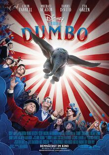 Disney's Dumbo 2019 German Poster