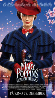 Disney's Mary Poppins Returns Norwegian Poster