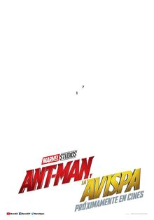 Ant-Man and the Wasp European Spanish Teaser Poster