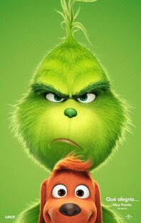 The Grinch Latin American Spanish Teaser Poster